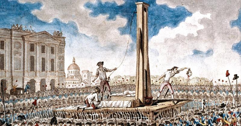 Guilhotina: história da invenção francesa que transformou a morte no teatro
