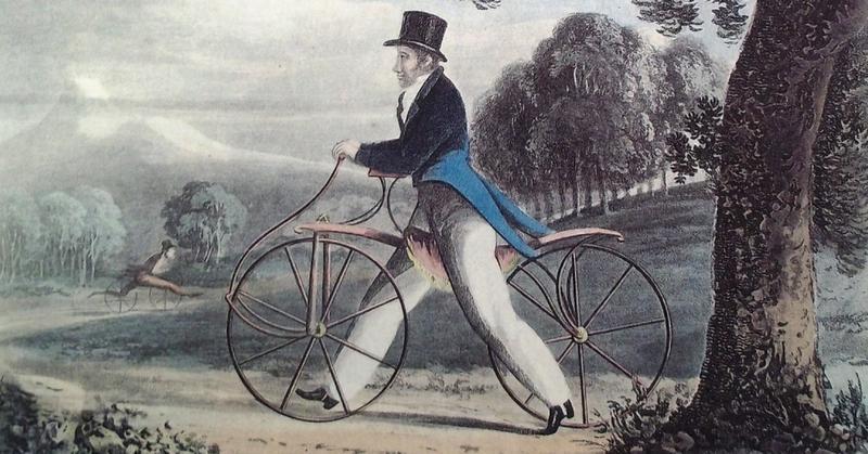 A primeira bicicleta é introduzida na cidade de Nova York, 1819: História do Velocípede